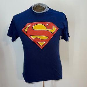 Superman Blue Medium Shirt
